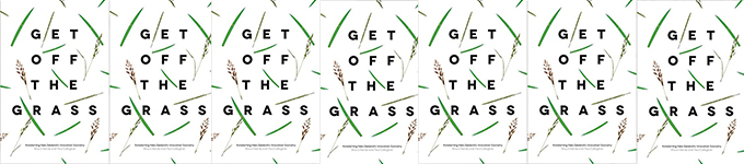 Prof Shaun Hendy launches 'Get Off the Grass'