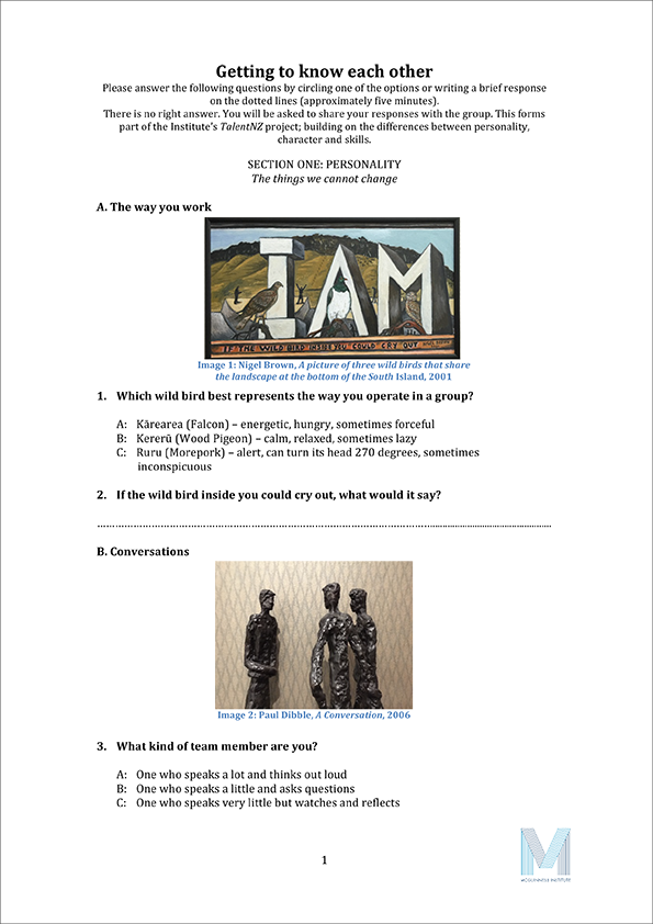 Worksheets and Quizzes – Character Building Worksheets