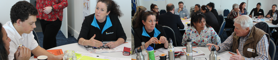 'If you lift up the health of the most vulnerable, you lift up the health of the whole region' – Linda Coulston, Manager of SuperGrans Tairāwhiti Trust, at the Gisborne workshop